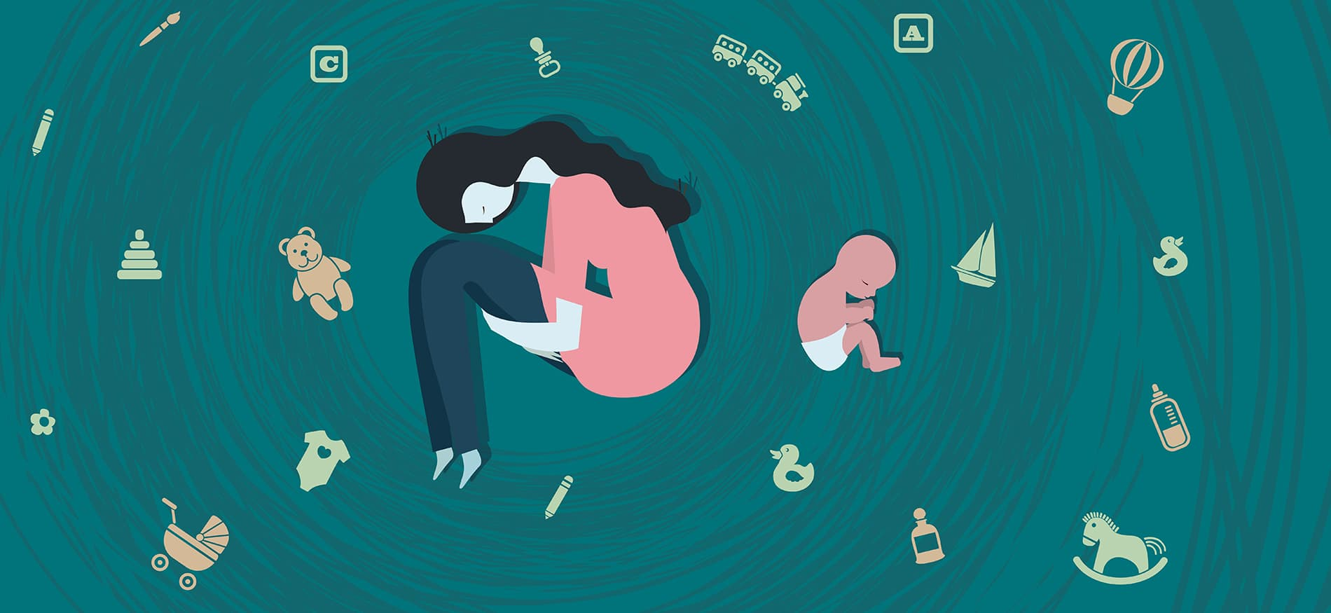 Depression clipart postpartum depression. I thought would never
