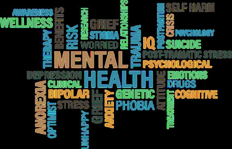 English speaking mental health. Depression clipart psychiatric