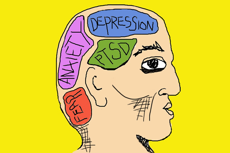 Free mental health cliparts. Depression clipart psychiatric