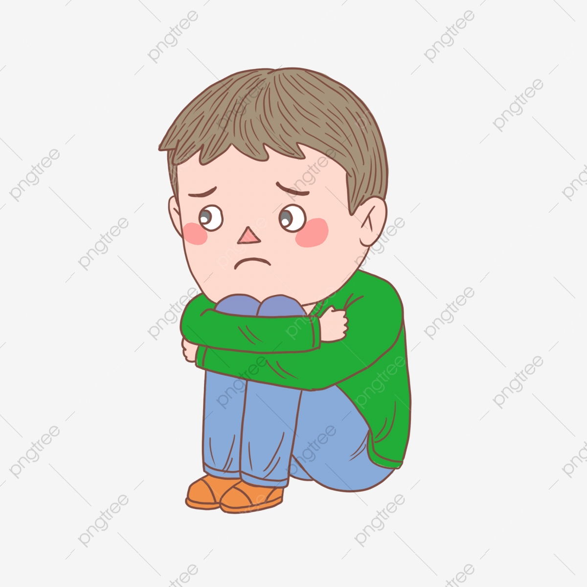 Depression clipart sad. Depressed people png