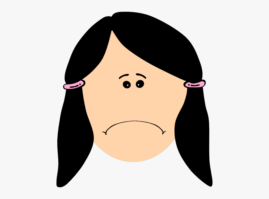 Depressed panda free image. Depression clipart sad girl