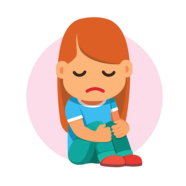 Cartoon characters free download. Depression clipart sad woman