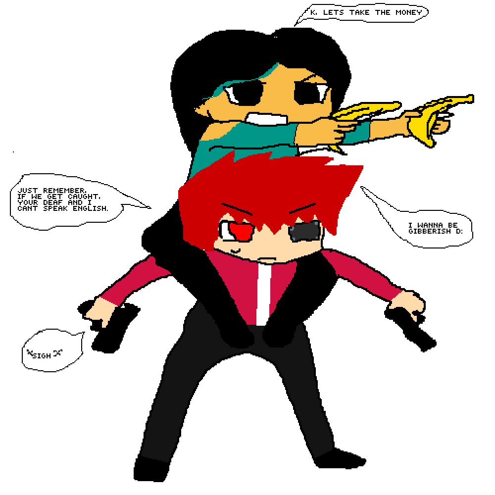 Depression clipart sigh. Pixilart the best robber