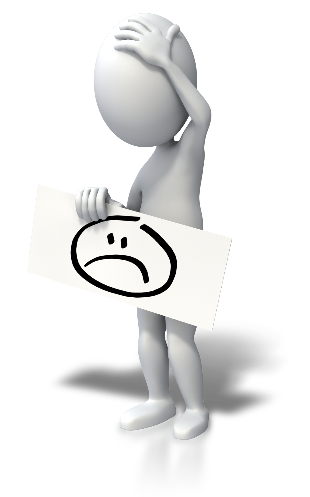 Employee clipart sad. Triste png hombrecitos pinterest