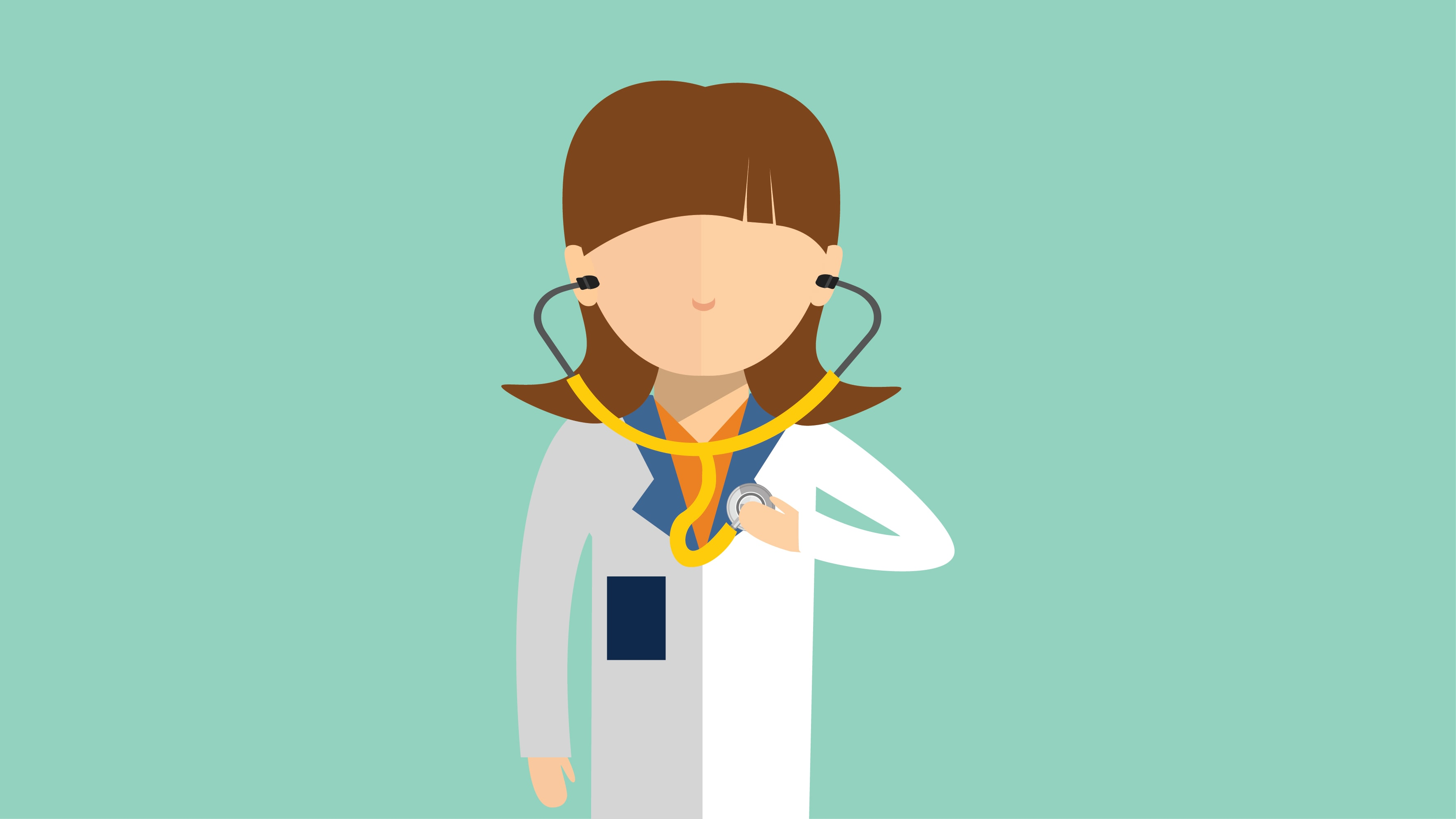 Worry clipart depression treatment. Physician doctors with undiagnosed