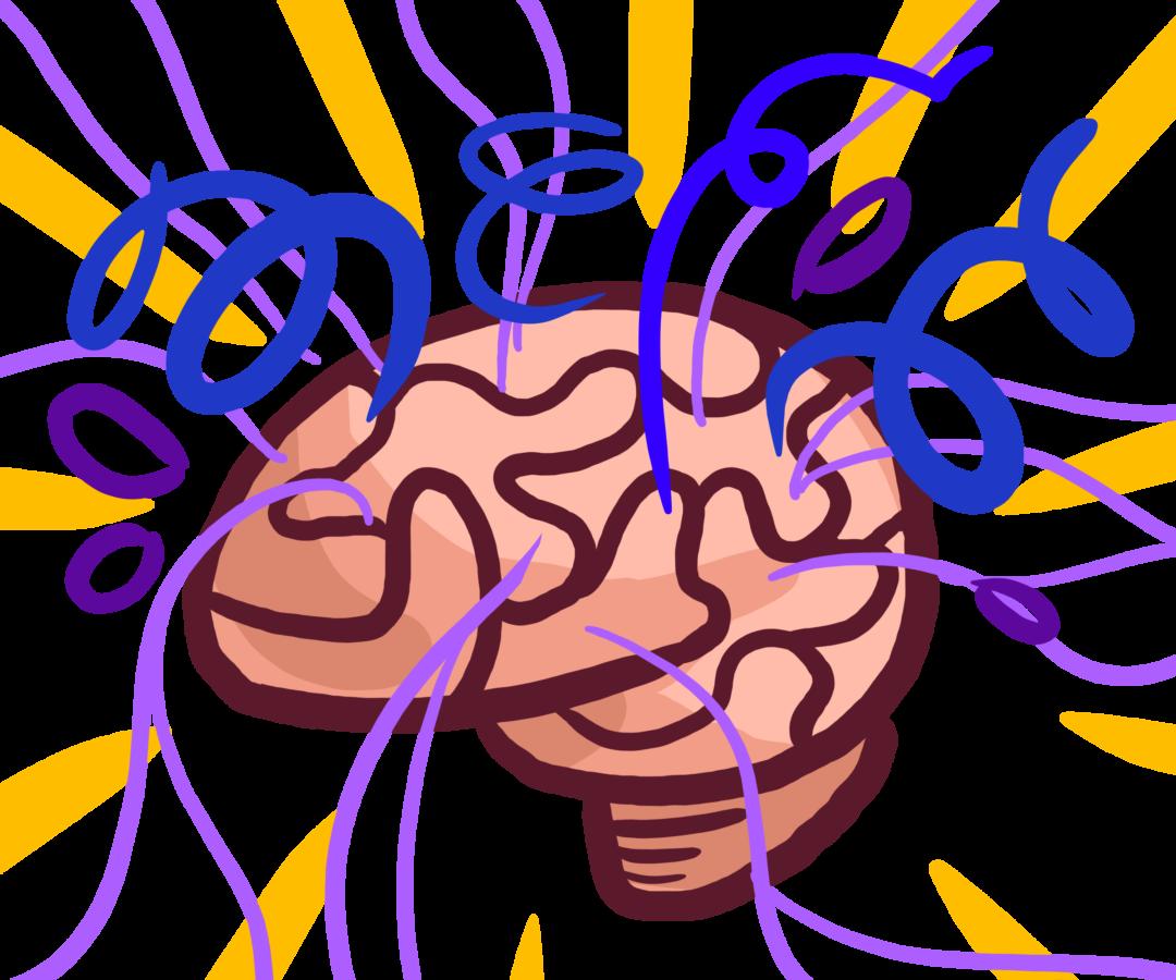 Mice help explain biological. Stress clipart stressed brain