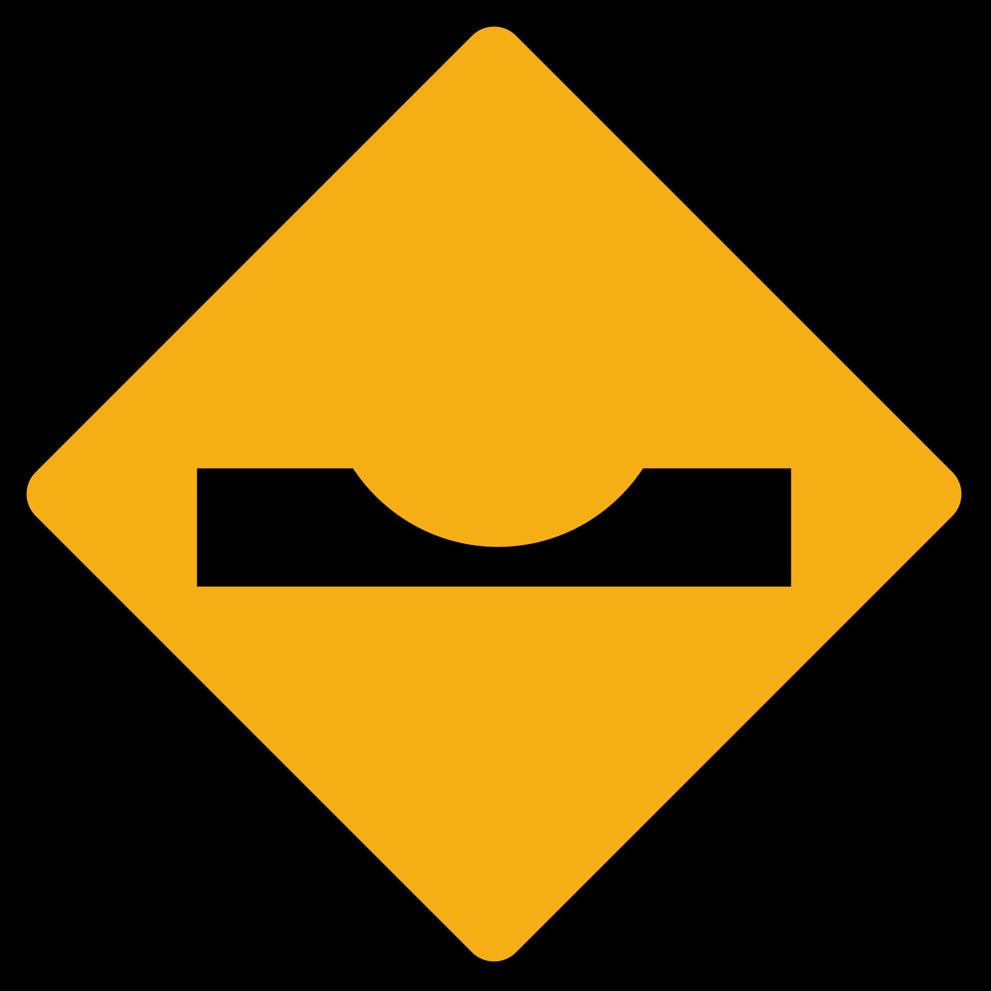 File diamond road sign. Diamonds clipart bitmap
