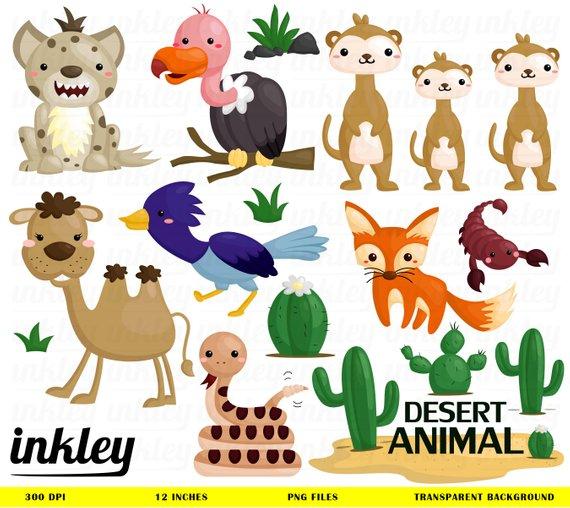Animal clip art png. Desert clipart