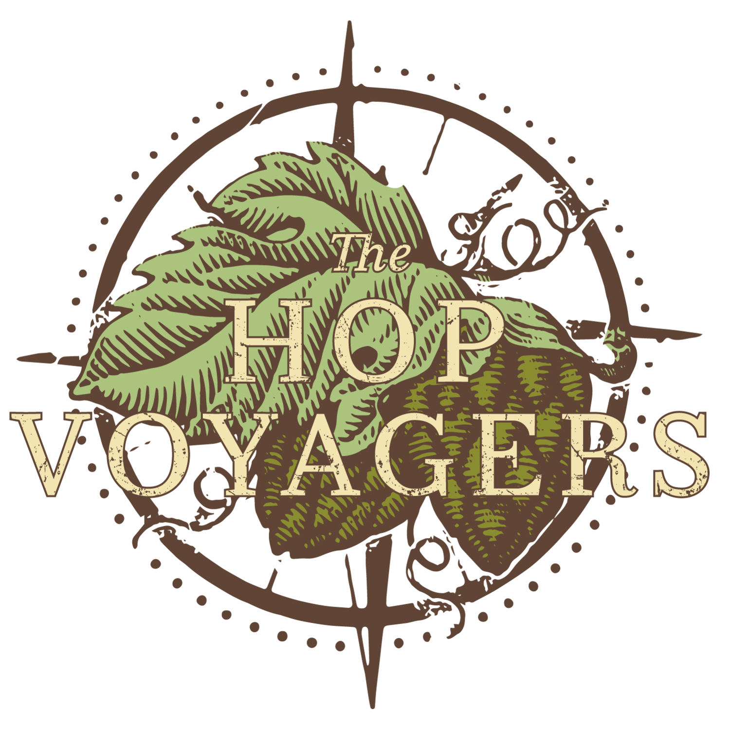 The hop voyagers . Hops clipart stand