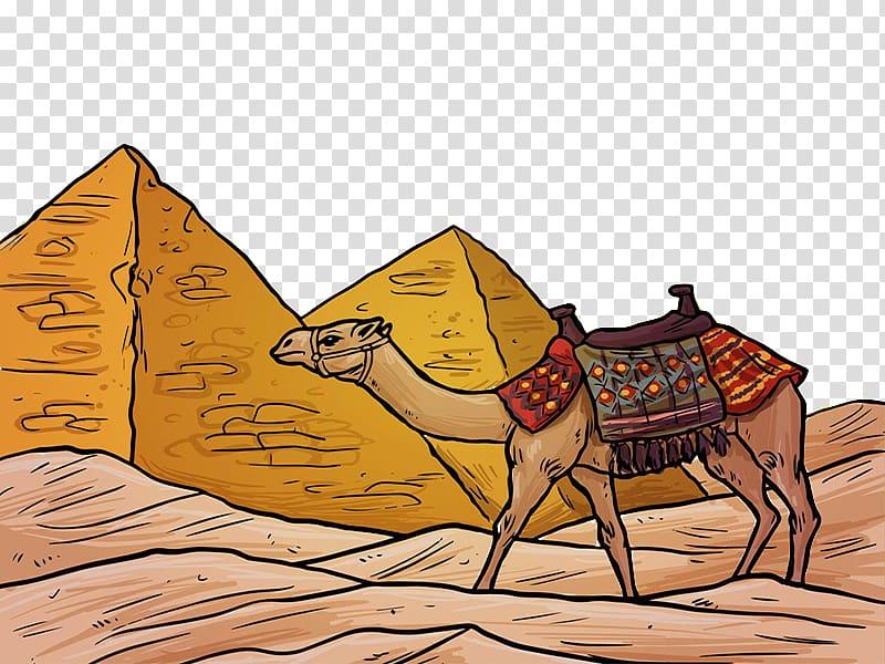 Desert clipart camel egyptian. Great sphinx of giza