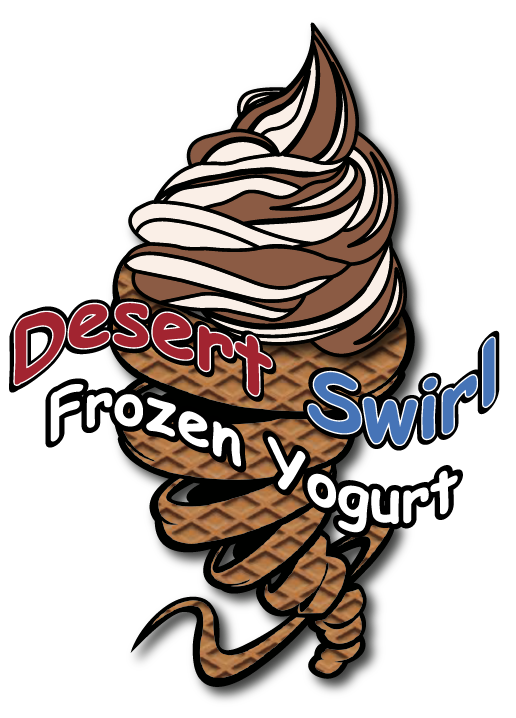 Yogurt clipart healthy dessert. Desert swirl frozen phoenix