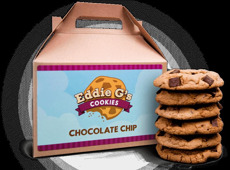 Desert clipart chocolate chip cookie. Eddie g s cookies