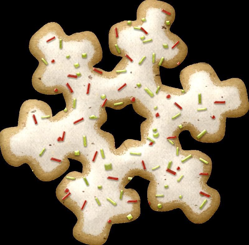 Gingerbread clipart cookie swap. Png scrapbook and album