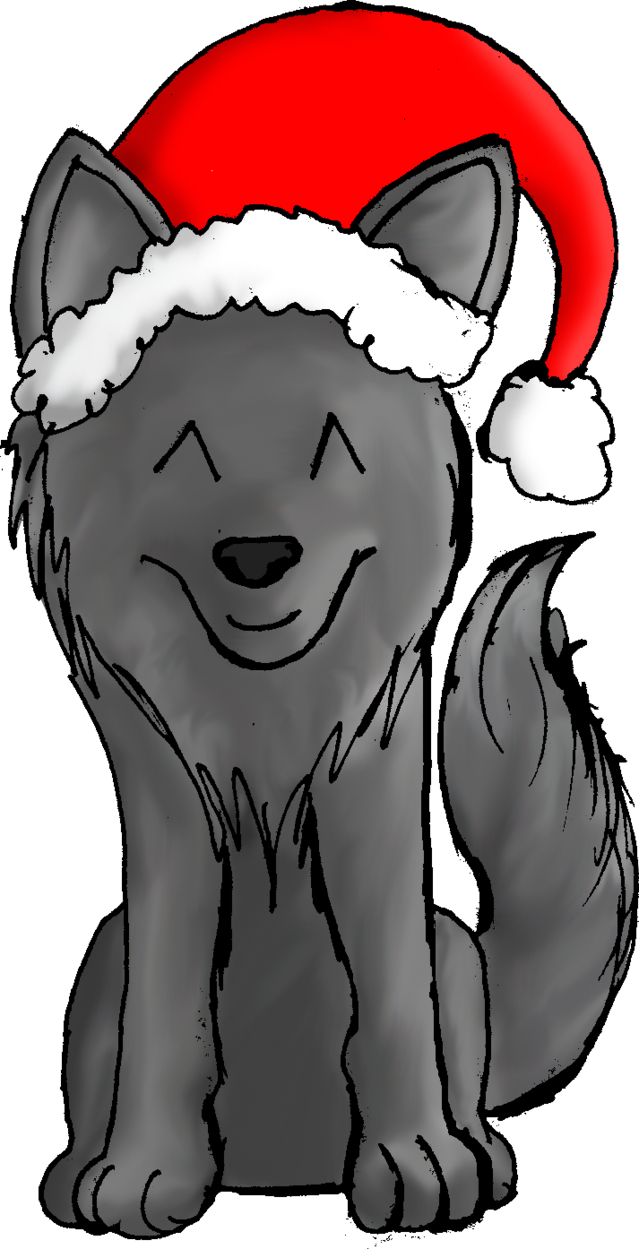 No by groundshock on. Wolf clipart christmas