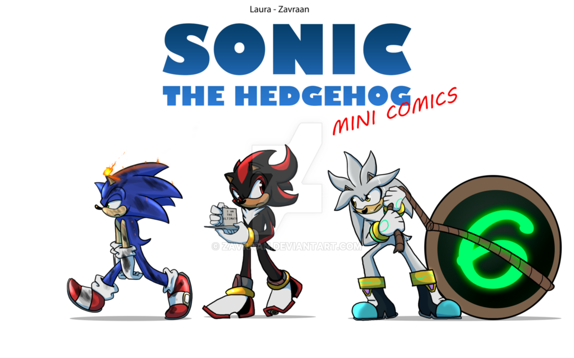 Sonic the comics logo. Hedgehog clipart comic