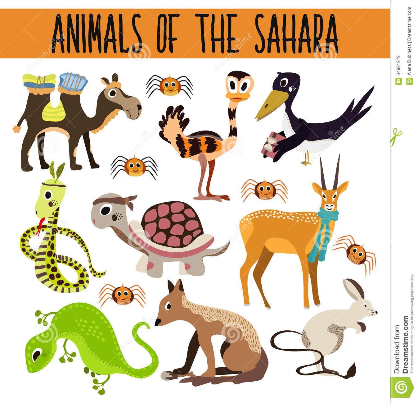 Desert clipart desert animal. Within animals il fullxfull