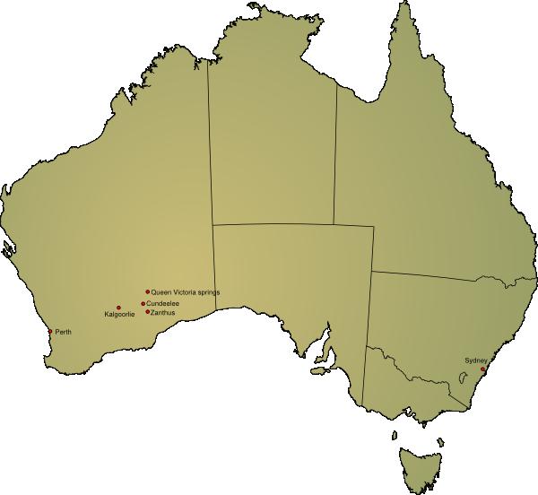 Desert desert australian