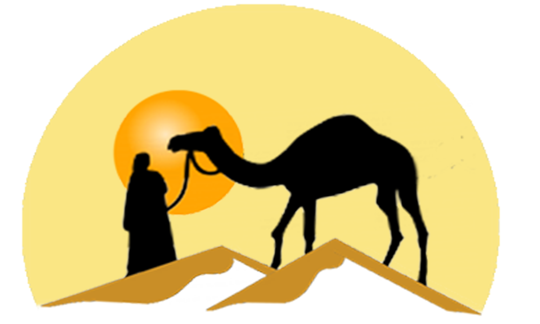 Camels in the png. Desert clipart desert camel