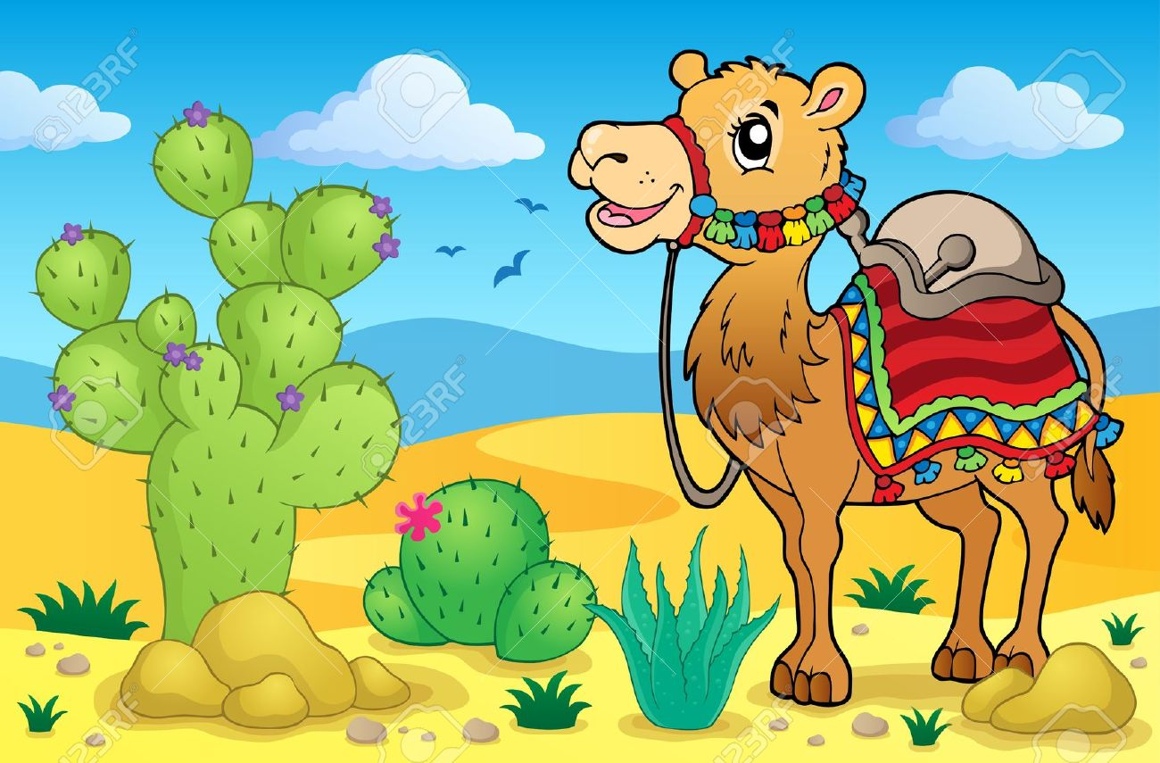 In drawing at paintingvalley. Desert clipart desert camel