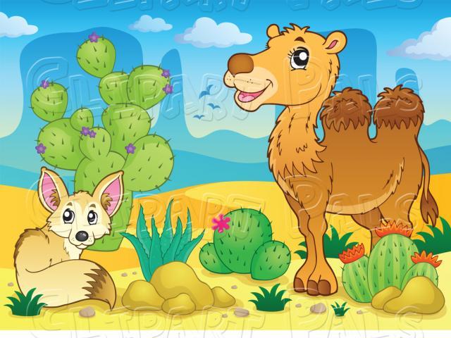 Desert clipart desert ecosystem. Free download clip art
