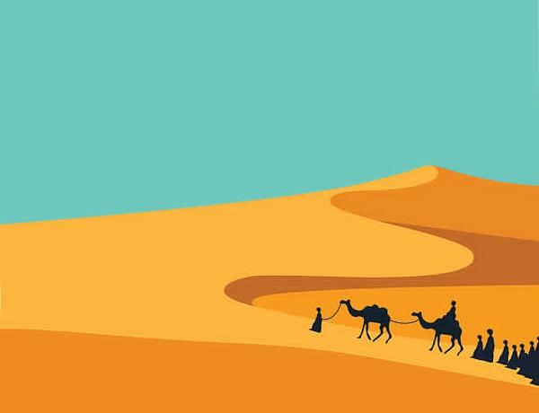 Desert clipart desert environment.