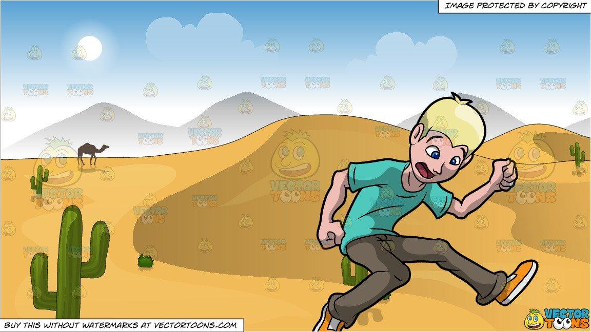 Desert clipart desert ground. Jump the gun and