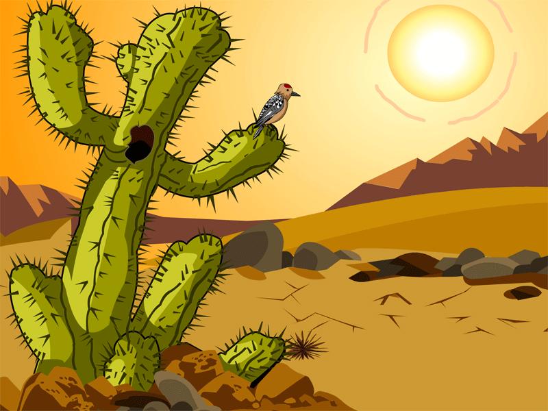 Cliparts zone . Desert clipart desert land