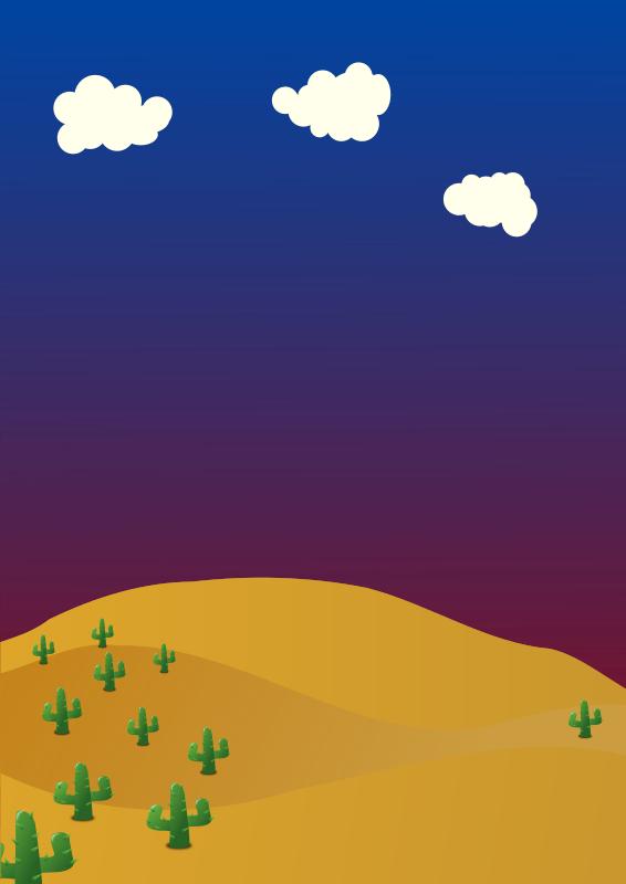 Background medium image png. Desert clipart desert landscape