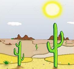 Free . Desert clipart desert landscape