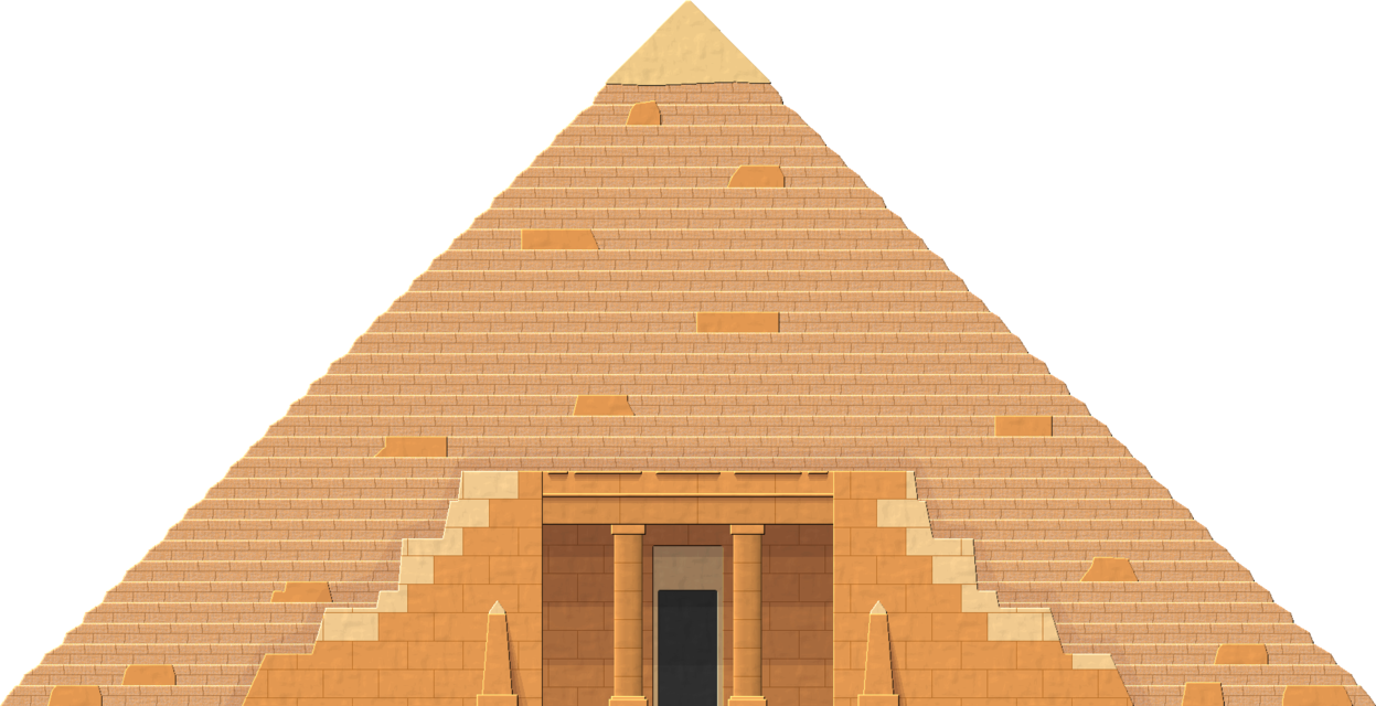 Desert clipart desert pyramid. Free png transparent images