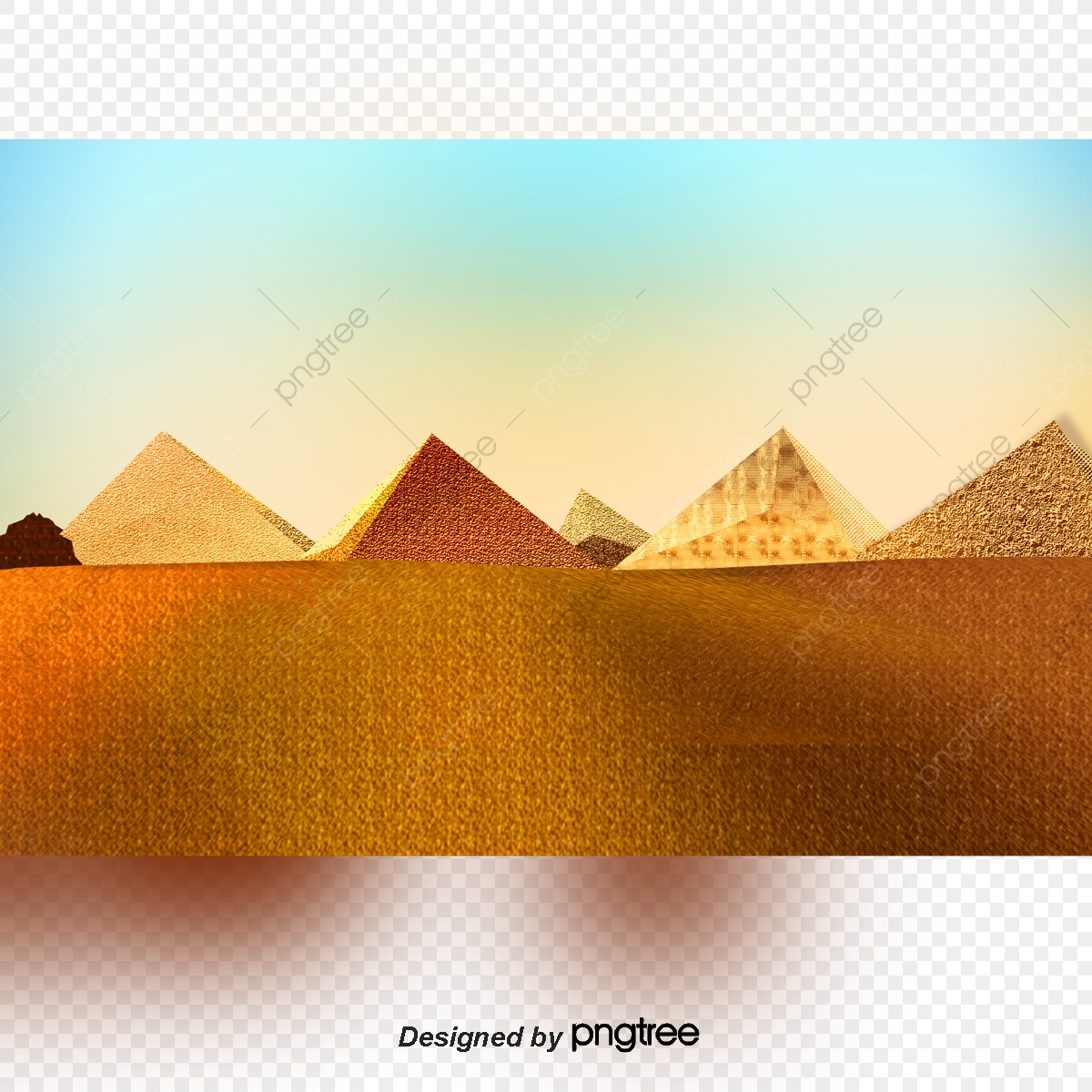 Sphinx camel places of. Desert clipart desert pyramid