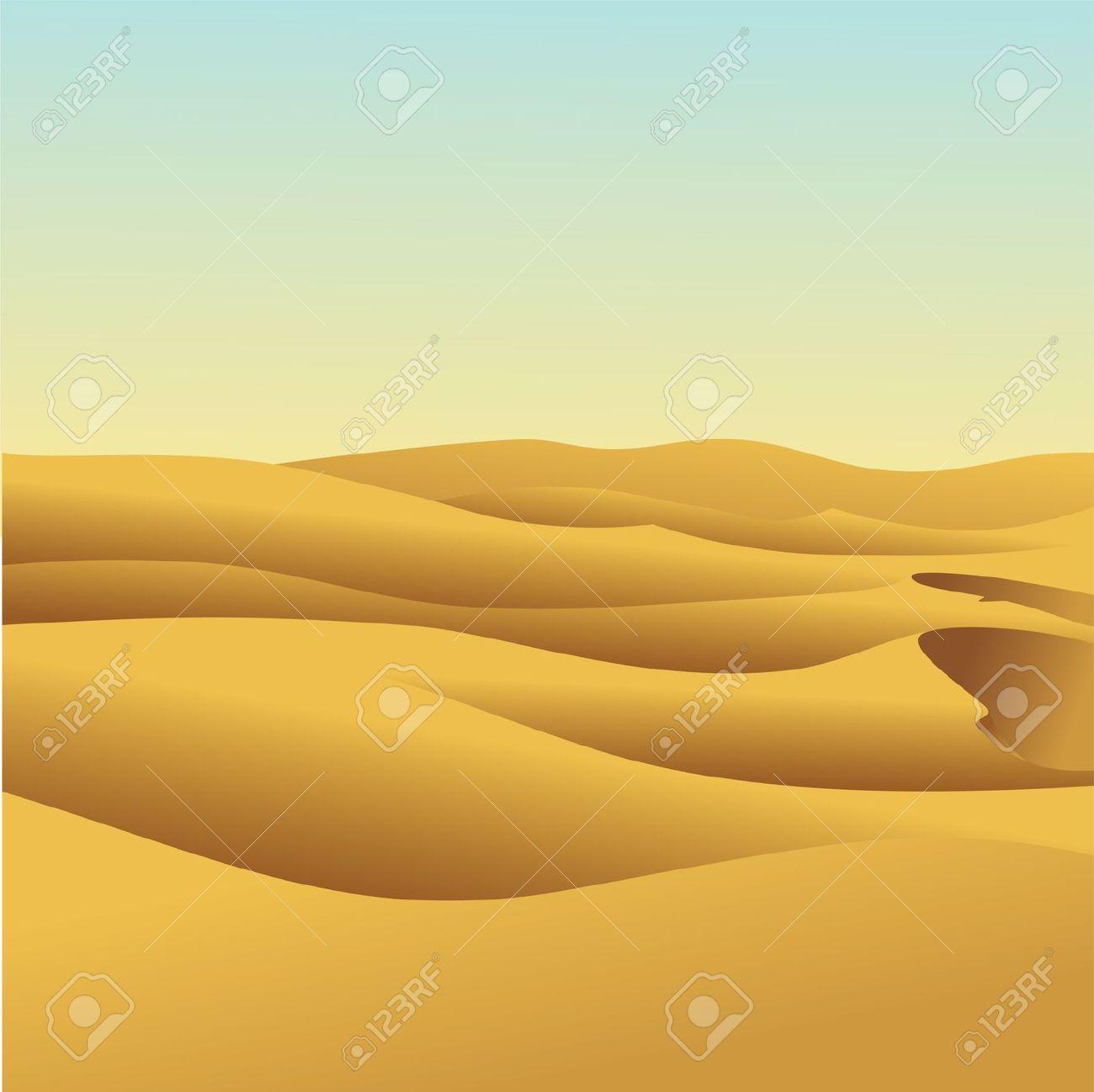 Landscape dune panda free. Desert clipart desert sand