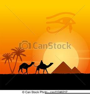Desert clipart desert scene. Free images at clker