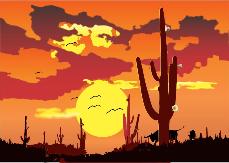 Free clip art wikiclipart. Desert clipart desert scene