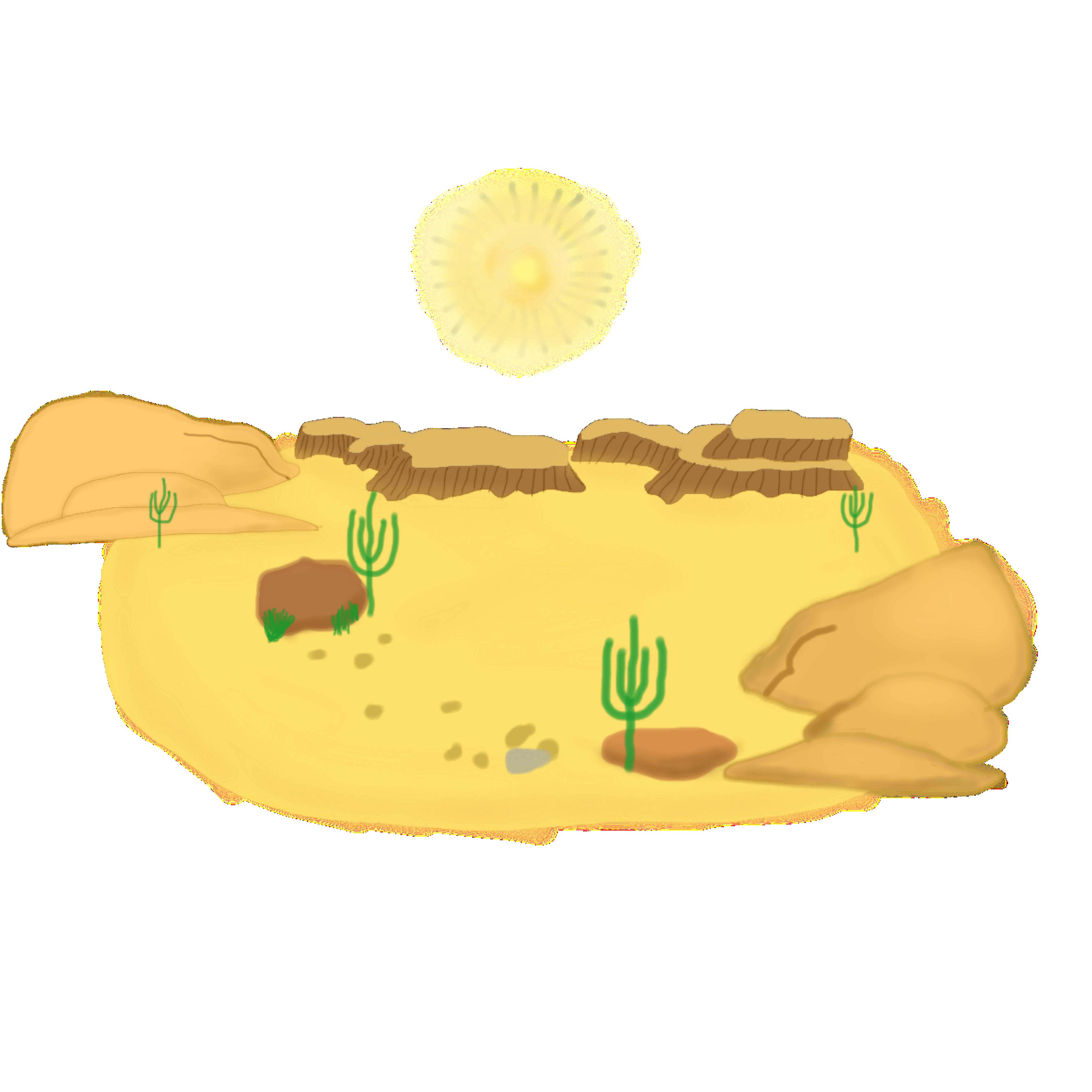 Desert clipart desert scenery.  collection of free
