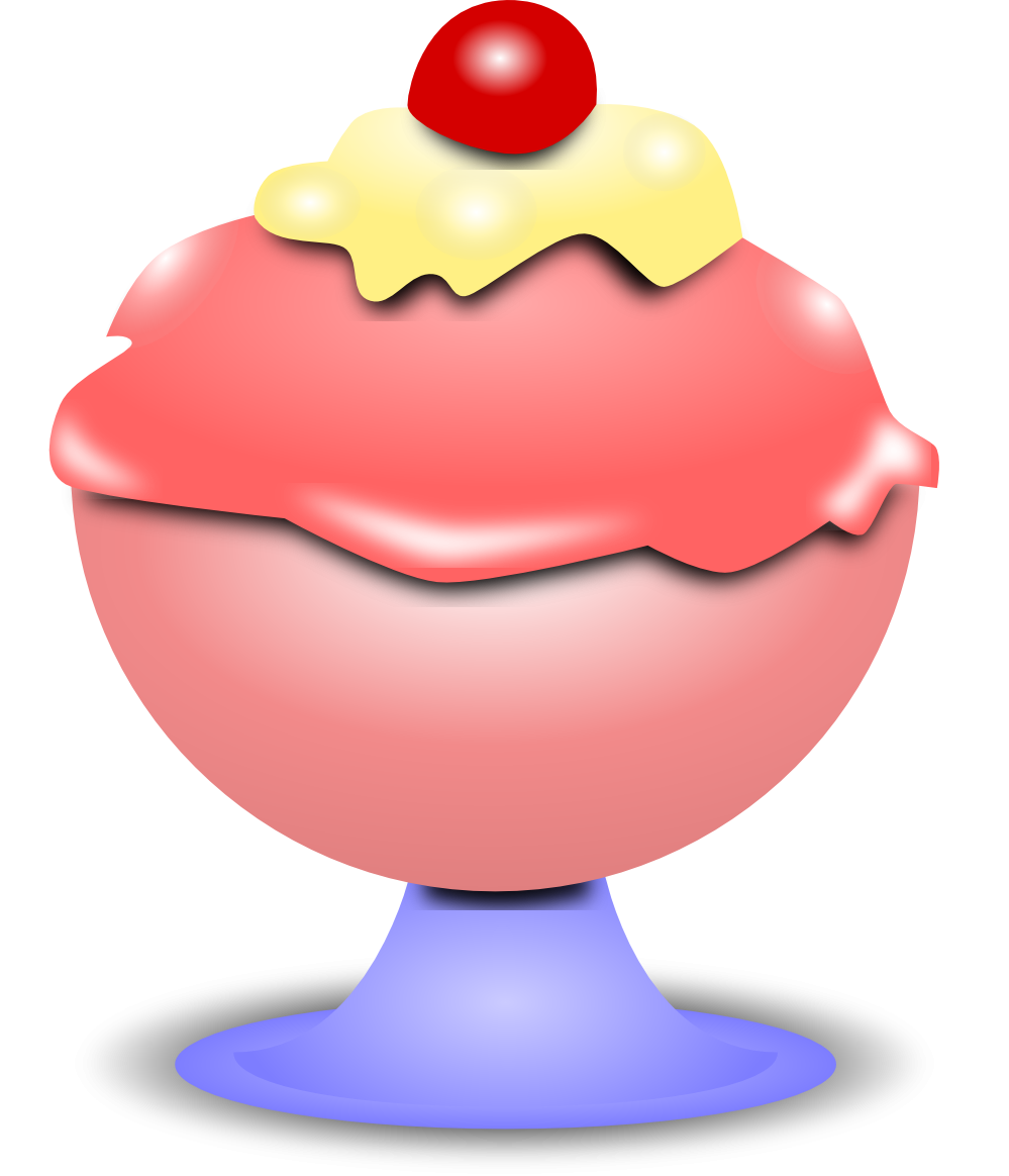 Ice clipart ice ream. In the desert cream