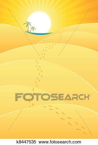 Amazing portal . Desert clipart journey