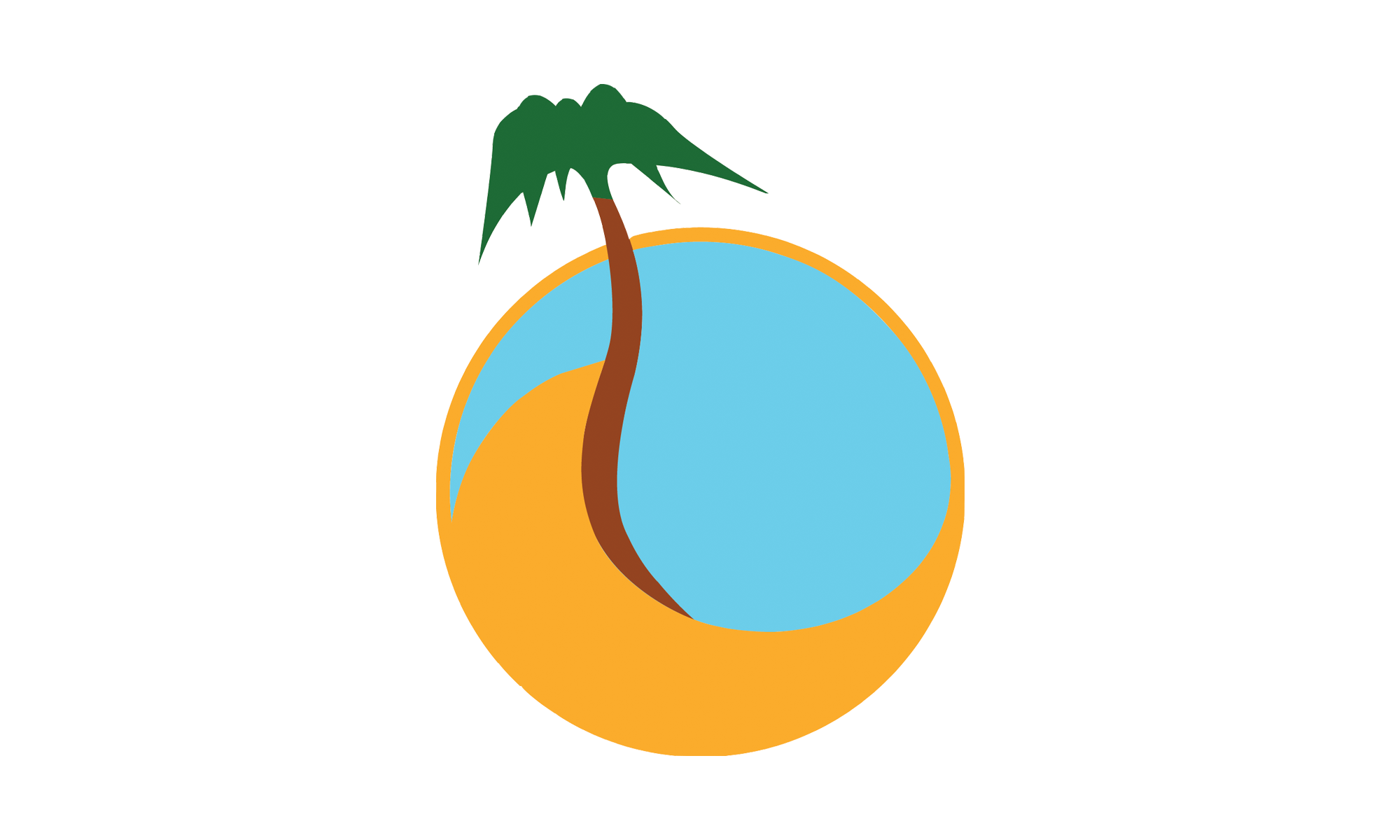 Resonate the podcast. Palm clipart oasis