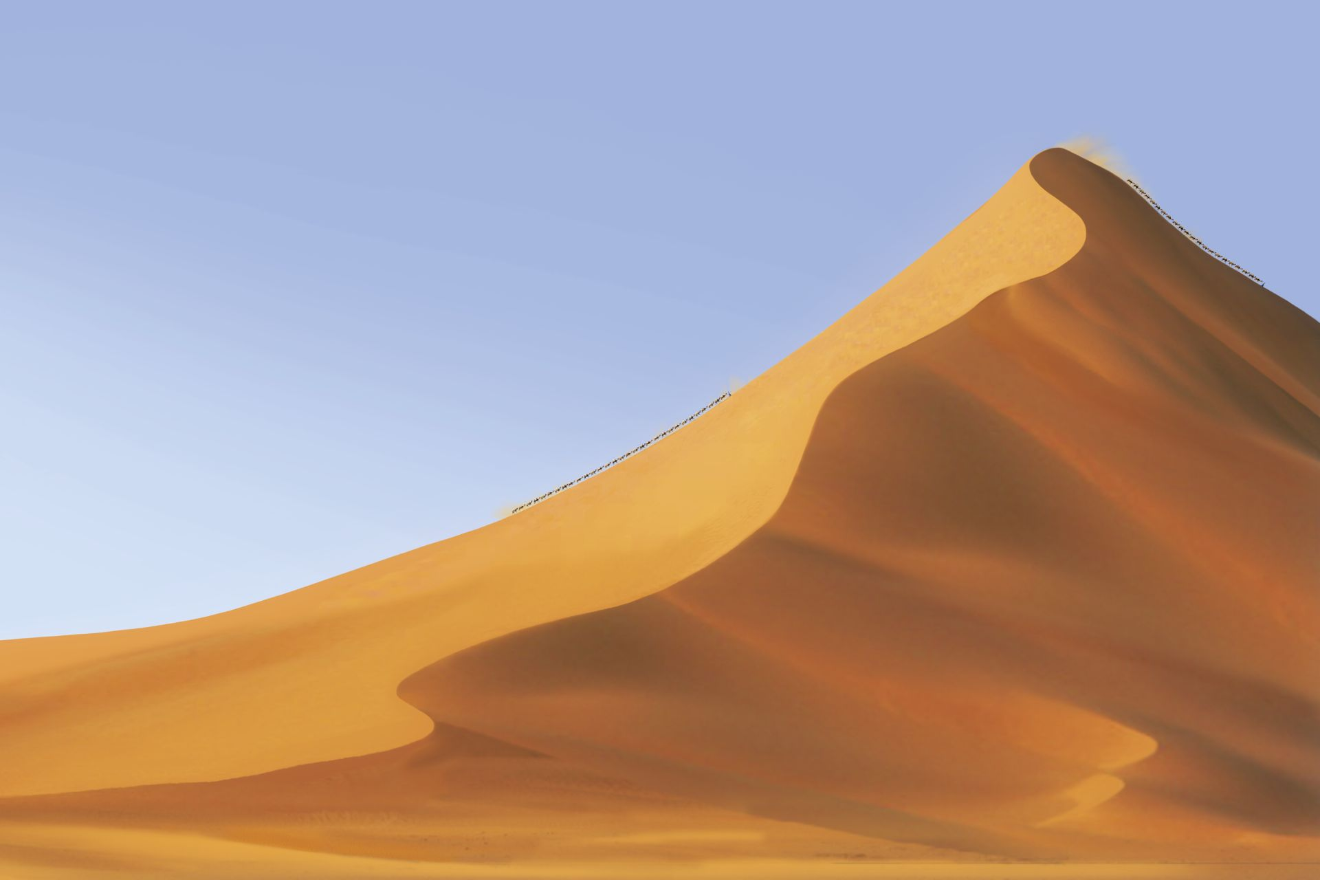 Dune facts how are. Desert clipart sand hill