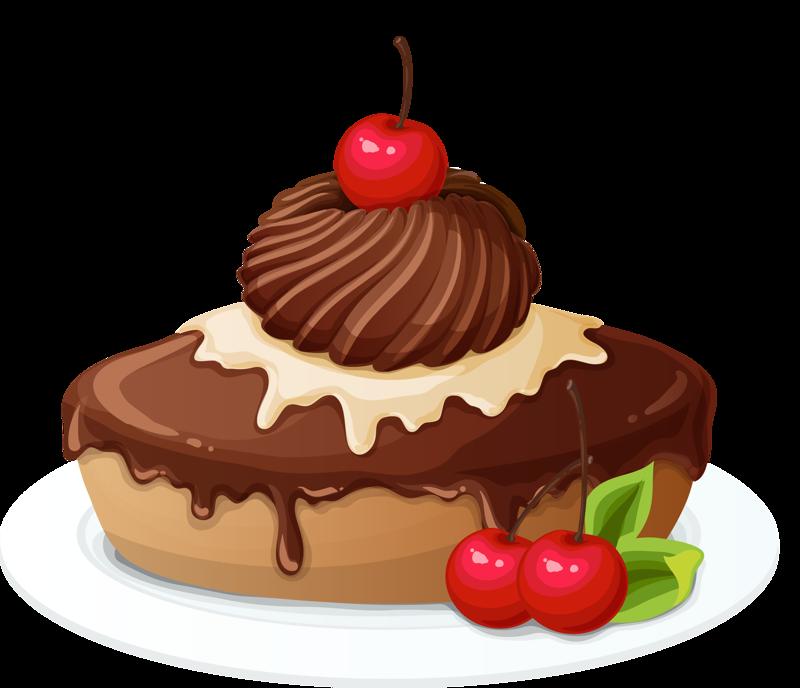 Content png food art. Desert clipart sponge cake