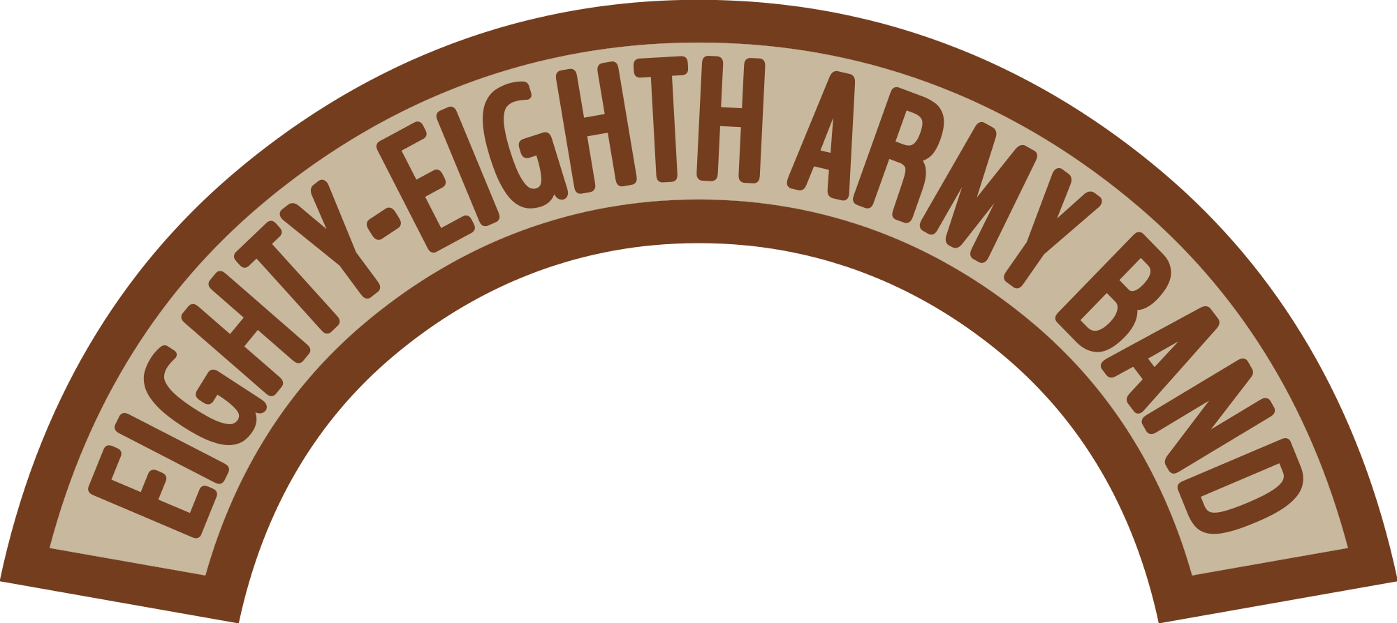 File us army eighty. Desert clipart svg