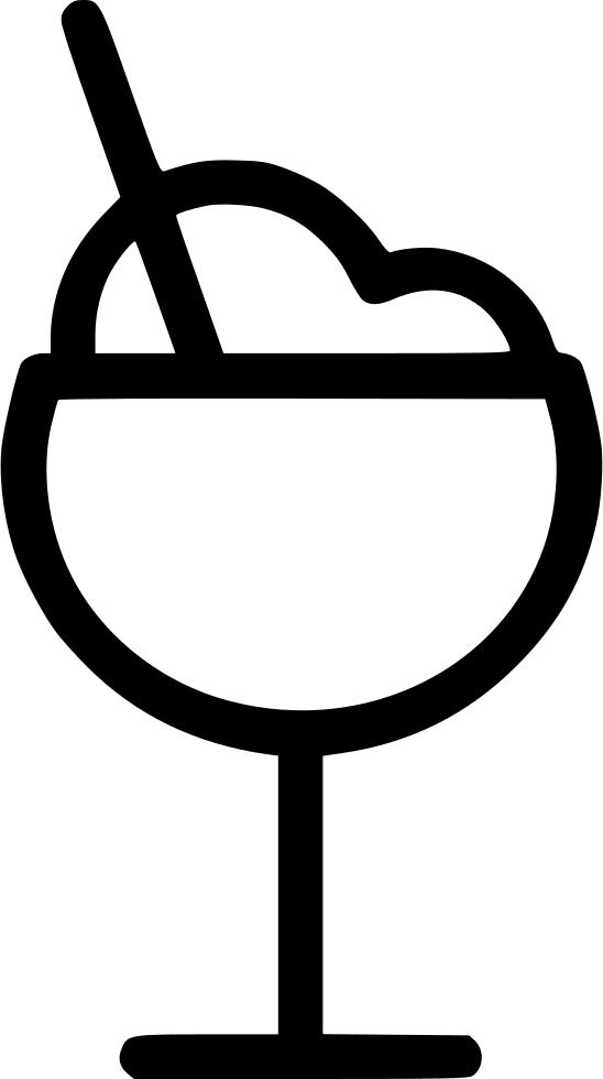 Fruit ice glass png. Desert clipart svg