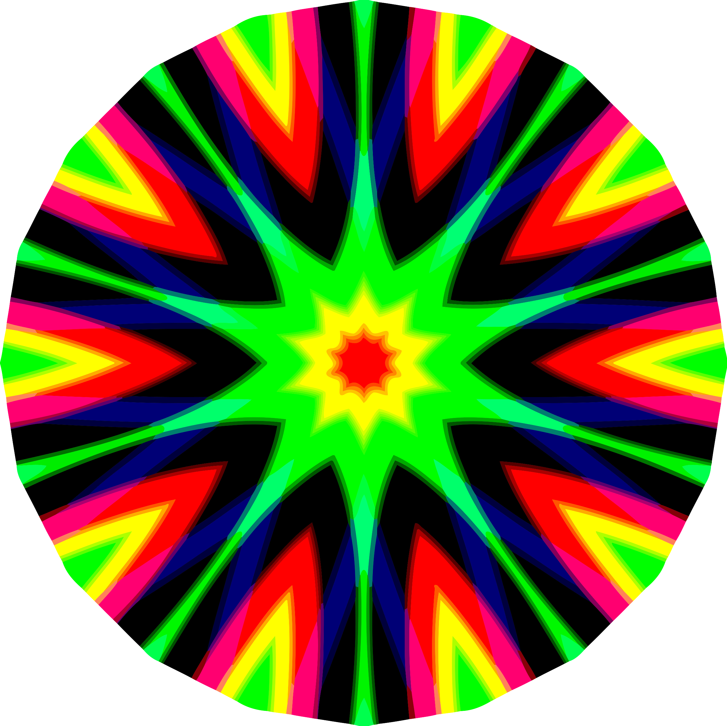 Colourful icons png free. Mandala clipart stock