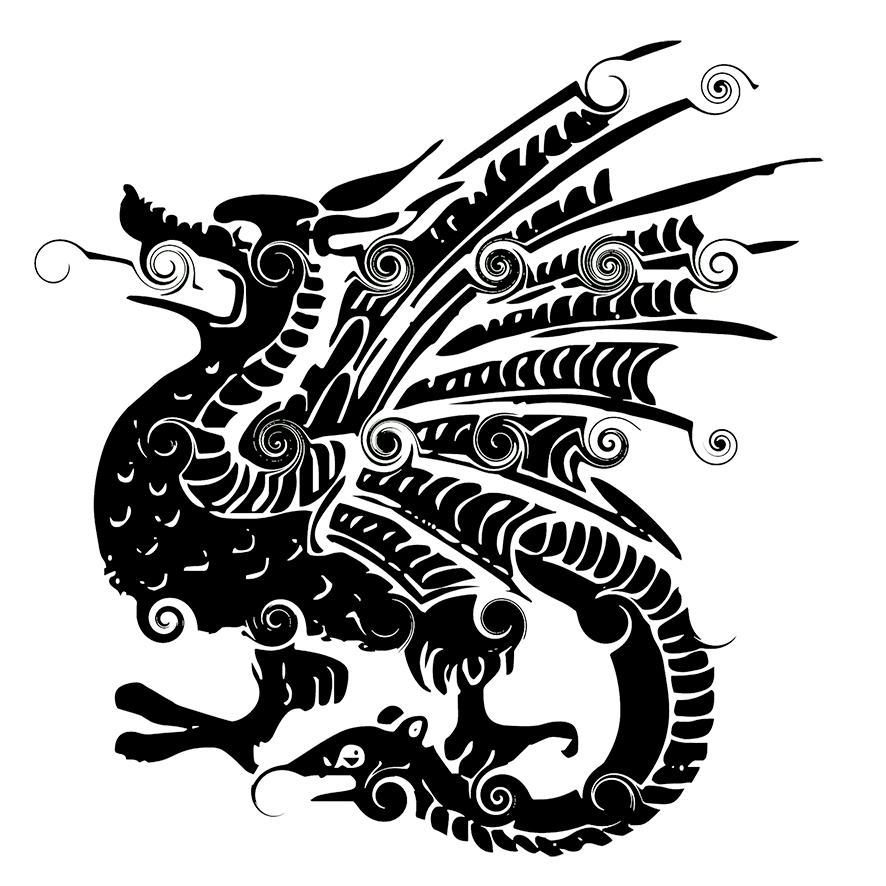 Design clipart dragon. Great pictures of cool