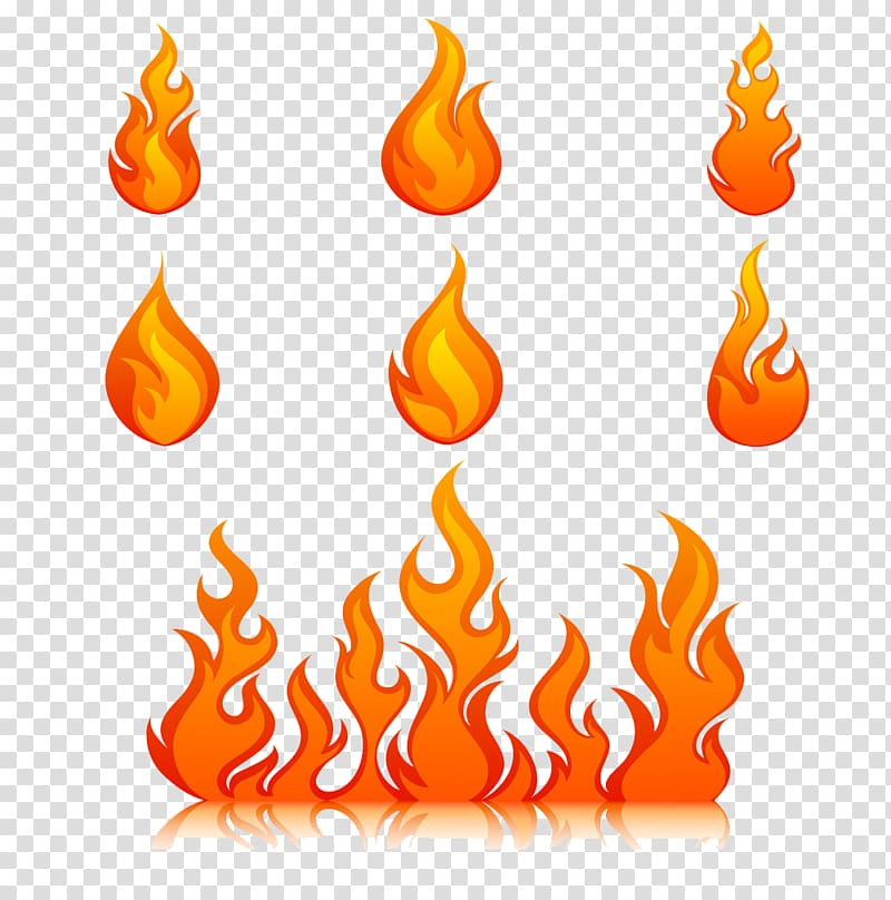 Flames clipart fire design. Flame creative pull small