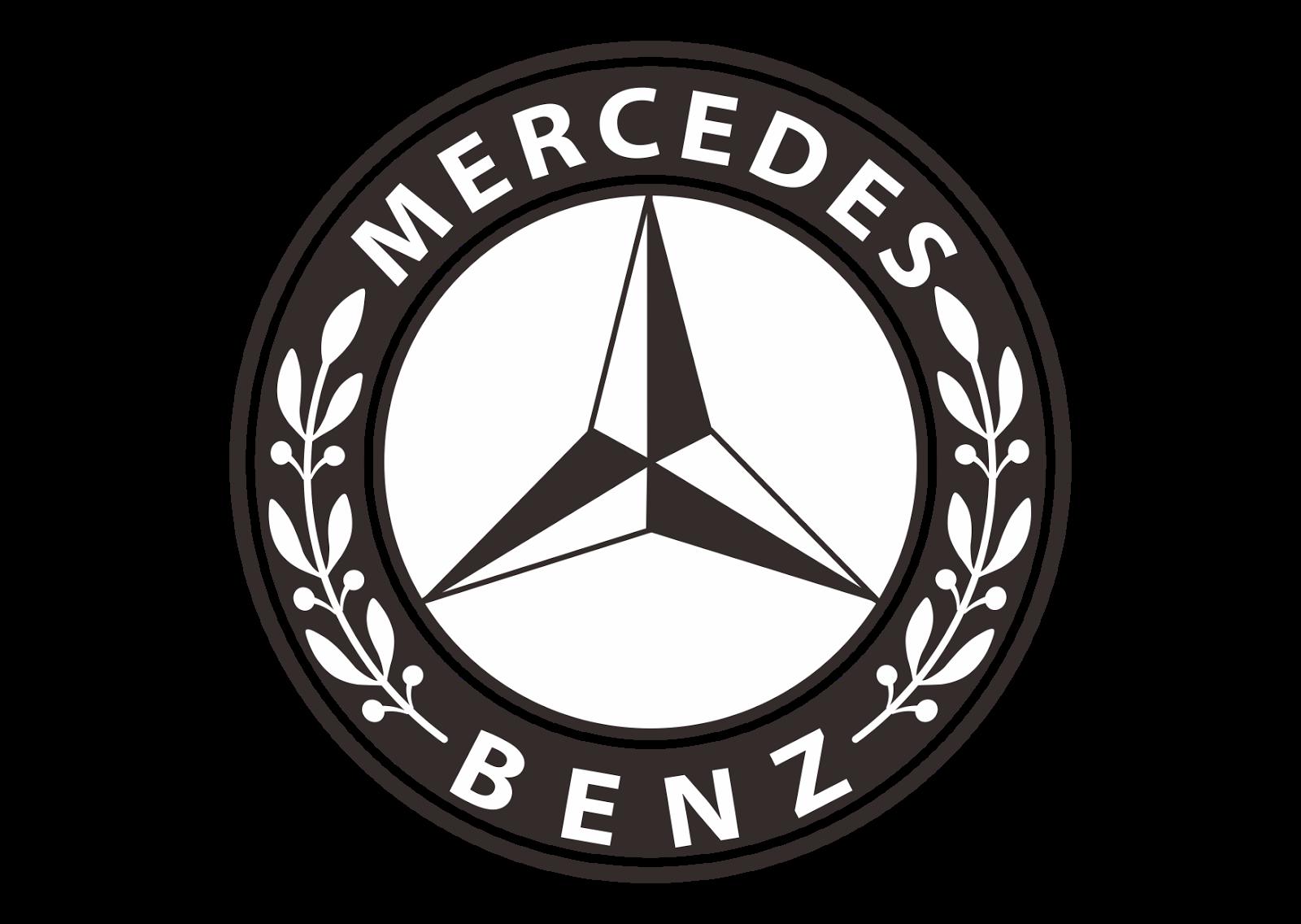High quality mercedes benz. E clipart logo