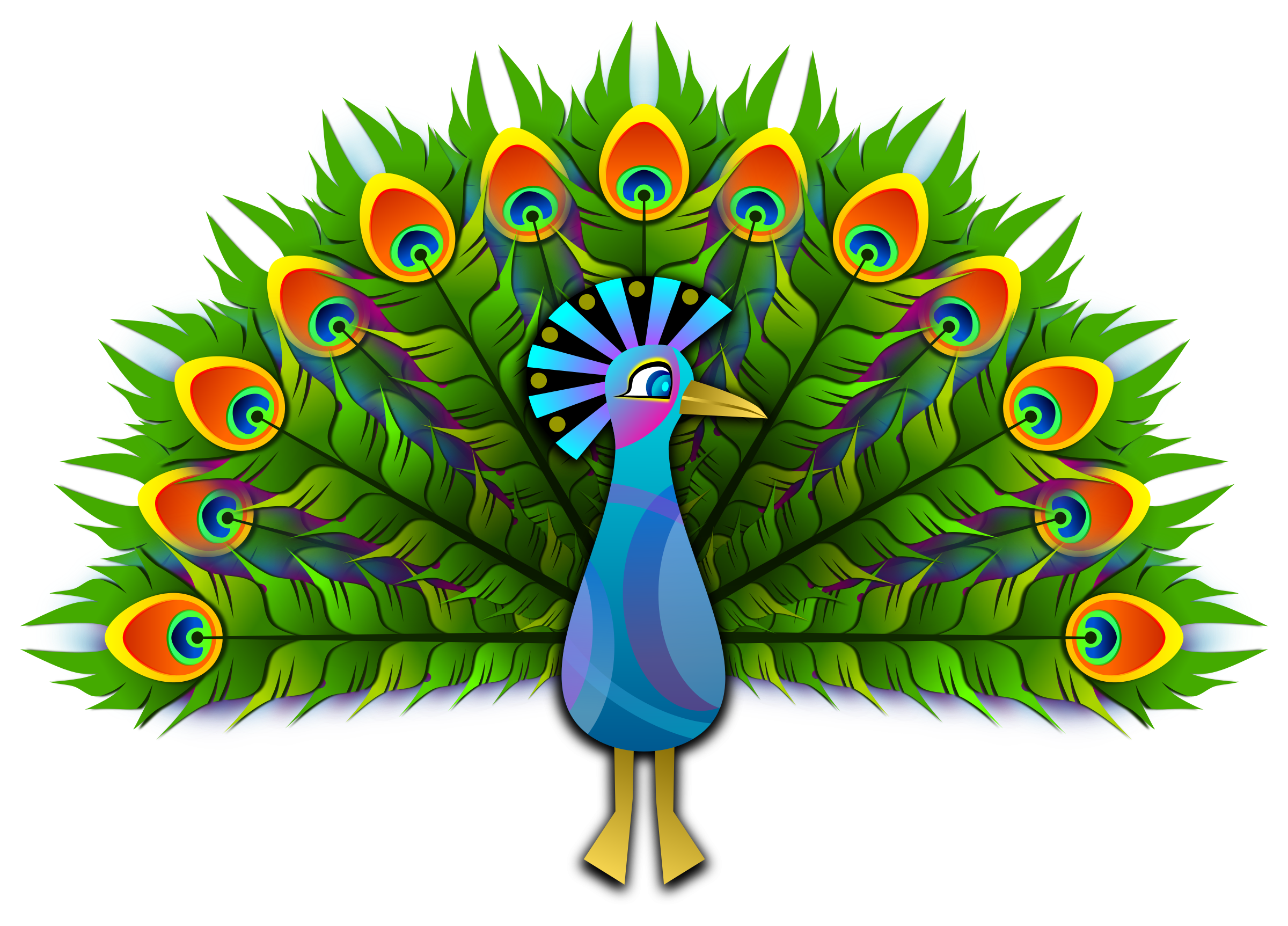 Design clipart peacock. Png images free download
