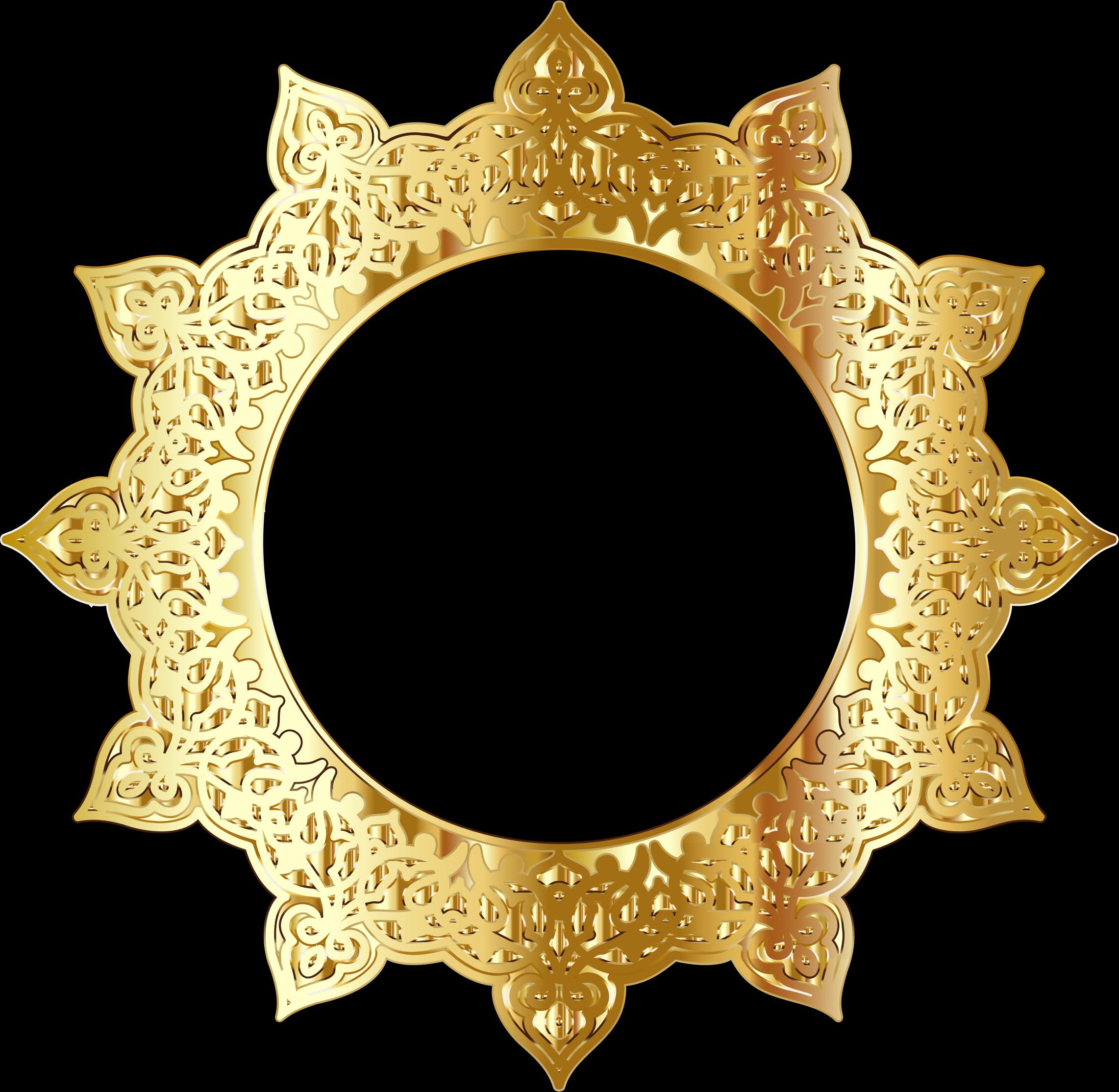 Clipart gold decorative ornamental. Golden frame png