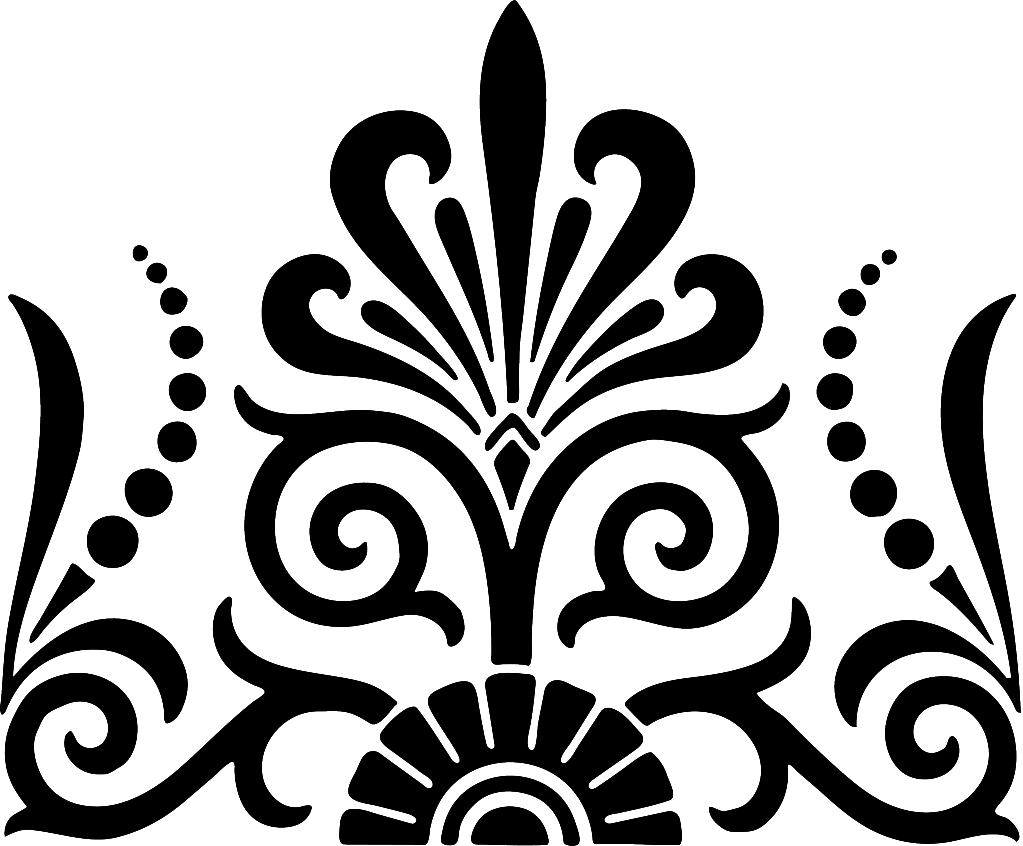 Free damask cliparts download. Tuna clipart outline