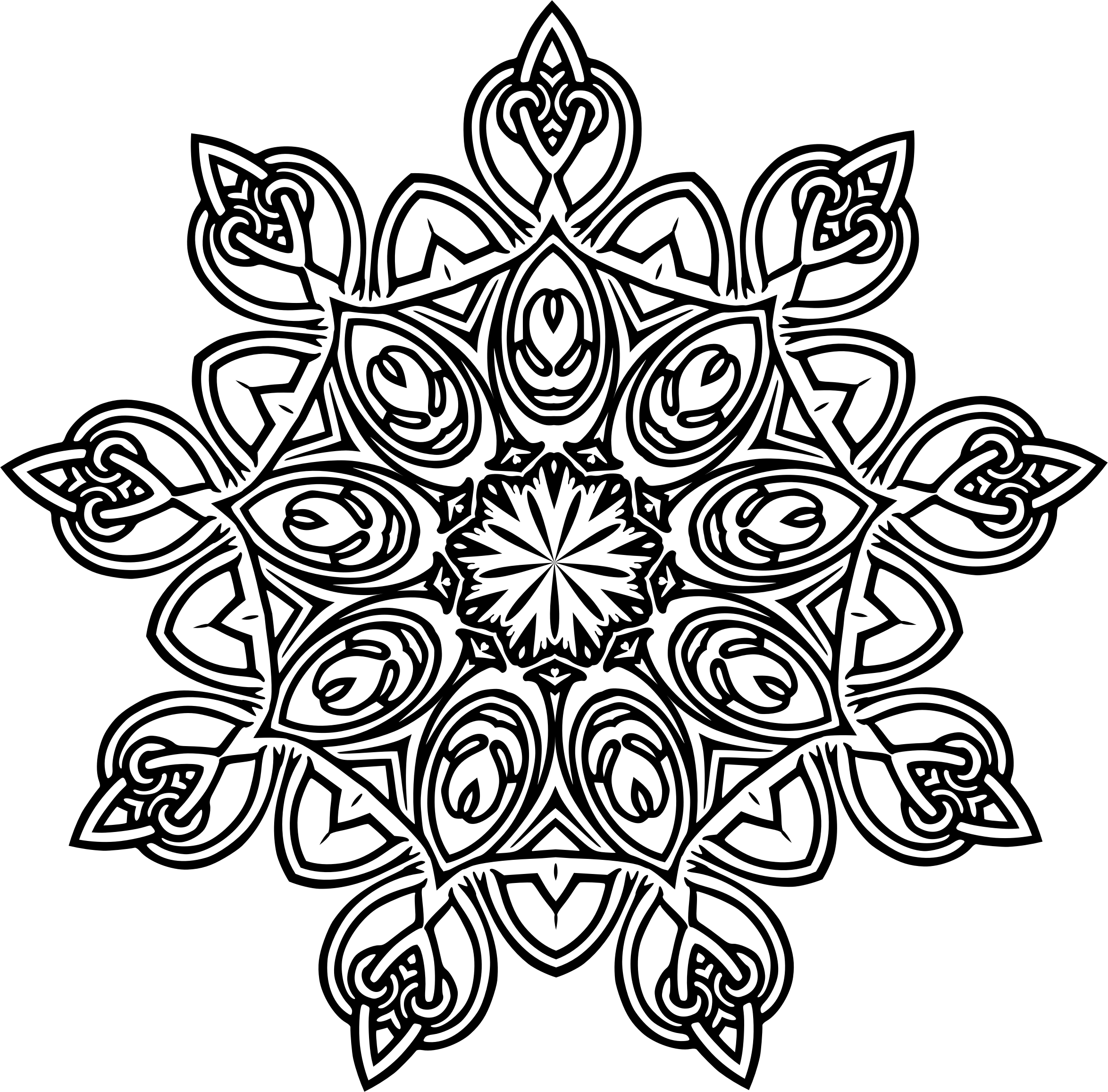Symetric clipground geometric. Design clipart vector